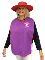 Red Hat Lady Bib